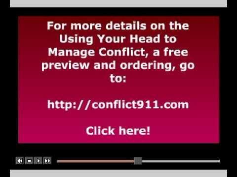 Using Your Head To Manage Conflict Presentation