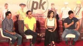 Aamir Khan Anushka Sharma at teaser launch of PK - HUNGAMA