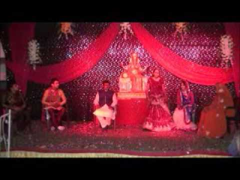Mahila Sangeet :-  Family Song performed by Mummy