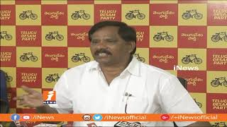 TDP Leader Jupudi Prabhakar Comments On Rajnath Singh And PM Modi | iNews - INEWS