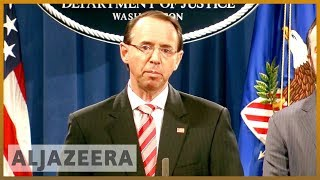 🇺🇸 US indicts 12 Russians on 2016 election meddling charges | Al Jazeera English - ALJAZEERAENGLISH