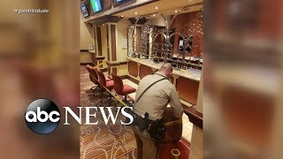 Suspect in custody after robbery attempt at Bellagio - ABCNEWS