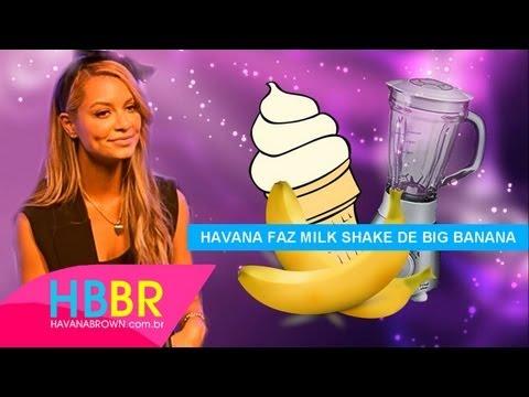 Havana Brown faz um Milk Shake de BIG BANANA (Legendado PT-BR)