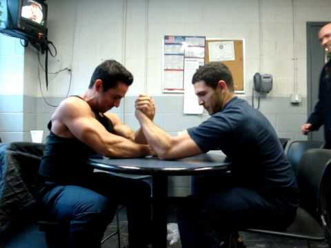 The Unofficial Arm Wrestling Competition