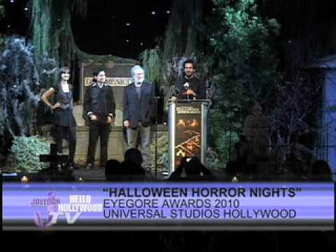 Eyegore Awards 2010 - Halloween Horror Nights -Universal Studio -Part 5.mov