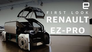 First look at EZ-PRO, Renault's autonomous delivery EV - ENGADGET