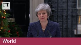"Theresa May: ""I will contest that vote with everything that I've got."" - FINANCIALTIMESVIDEOS"
