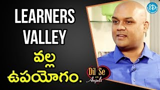 Srinivas About How Learners Valley Helps To Prepare For Civils Exam    Dil Se With Anjali - IDREAMMOVIES