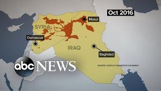 ISIS forces now cornered in Syria - ABCNEWS