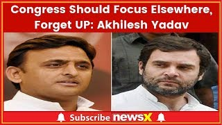 Lok Sabha Elections 2019: Congress Should Focus Elsewhere, Forget UP: SP Chief Akhilesh Yadav - NEWSXLIVE
