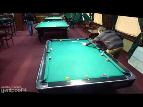 Pool billiard drill