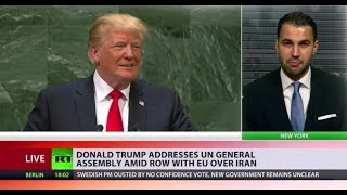 Trump's UNGA speech: Iran, illegal immigration & globalism - RUSSIATODAY