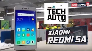 XIAOMI REDMI 5A REVIEW | TECH AND AUTO SHOW | CNN News18 - IBNLIVE