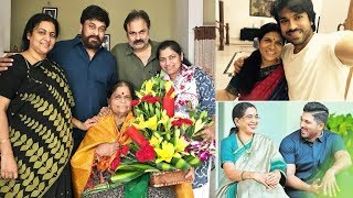 Tollywood Celebrities Celebrating Mother's Day | Mothers's Day Special Photos - RAJSHRITELUGU