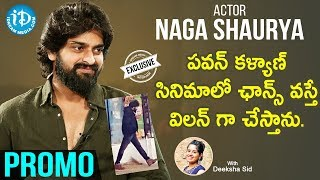 Naga Shaurya Exclusive Interview Promo | Talking Movies with iDream | Deeksha Sid | iDream Movies - IDREAMMOVIES