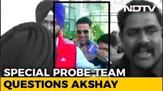 Akshay Kumar, Named In Punjab Sacrilege Case, Appears Before Probe Team - NDTV