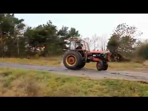 Super fast farm tractor