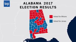 How Alabamians voted in the Senate election - WASHINGTONPOST
