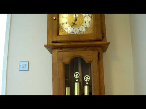 URGOS WESTMINSTER CHIMING LONGCASE GRANDFATHER CLOCK