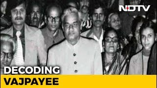 Watch: Legacy of Vajpayee, Often Described As Nehru Of The Right - NDTV