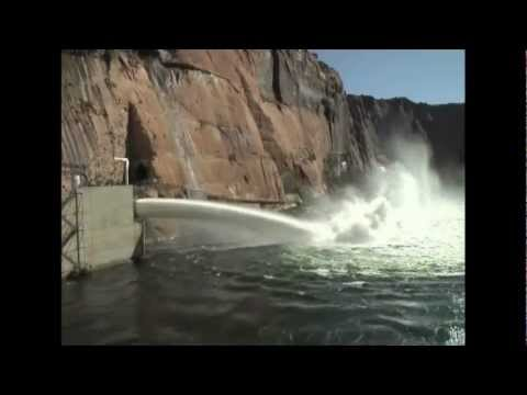 Glen Canyon Dam – Experimental High Flow Water Release 2012