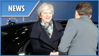 Theresa May arrives in Brussels to meet with Donald Tusk - THESUNNEWSPAPER