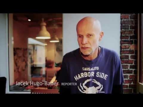 Jacek Hugo-Bader w kampanii Feminoteki.