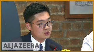 🇭🇰 🇨🇳 Hong Kong activist renews calls for independence | Al Jazeera English - ALJAZEERAENGLISH
