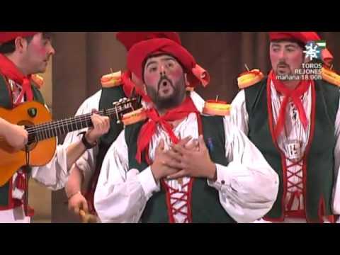 Sesión de Final, la agrupación Lo siento Patxi, pero no todo el mundo puede ser de Euskadi actúa hoy en la modalidad de Chirigotas.