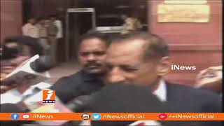 Governor ESL Narasimhan Meets Rajnath Singh In Delhi | iNews - INEWS