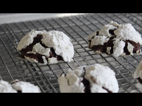 Food Wishes - Chocolate Snowcap Cookies - Classic Holiday Cookie Recipe - Learn how to make a Chocolate Snowcap Cookies recipe! Go to http://foodwishes.blogspot.com/2013/12/chocolate-snowcaps-theres-snow-on-them.html for the ingredient amounts, extra information, and many, many more video recipes! I hope you enjoy this Classic Holiday Cookie Recipe!