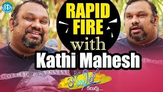 Mahesh Kathi Exclusive Interview Part #8 || Anchor Komali Tho Kaburlu - IDREAMMOVIES