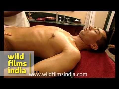 Four hand full body massage