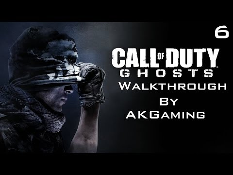 Call Of Duty Ghosts Walkthrough Part 6 Legends Never Die [HD] [1080p]