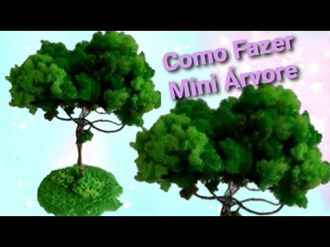 Árvore de Espuma Triturada para Maquete ou Decoração Parte 2/3_Lucilia Dantas