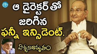 K Vishwanath Shares A Funny Incident During A Film Shoot || #Viswanadhamrutham || Manjunath - IDREAMMOVIES