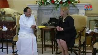 Vice President Venkaiah Naidu Held talk with president of Malta | India, Malta sign 3 MoUs |CVR NEWS - CVRNEWSOFFICIAL