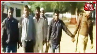 आज सुबह: उत्तर प्रदेश मैं एनकाउंटर बाद 4 बदमाशों को किया गिरफ्तार - AAJTAKTV