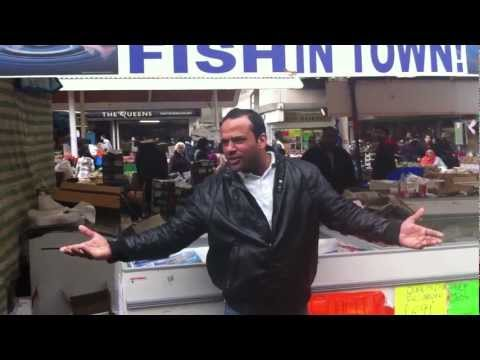 One 1 Pound Fish, Queens Market, Upton Park, London E13 (THE Original)