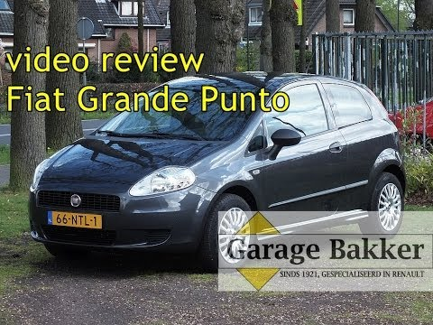 Video review Fiat Grande Punto 1.3 Multi-jet D Actual, 2010, 66-NTL-1