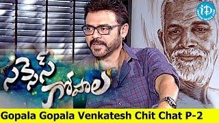 Victory Venkatesh Gopala Gopala Success Chit Chat Part 2/3 || Success Gopala - IDREAMMOVIES