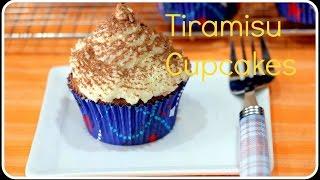 Tiramisu Cupcakes Using EGGS - SRUTHISKITCHEN