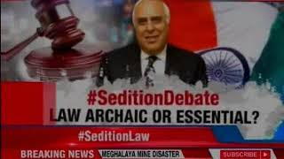 Kapil Sibal: Sedition law a colonial hangover, scrap it - NEWSXLIVE