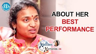Sahithi About Her Best Performance In X Factor India || Melodies & Memories - IDREAMMOVIES