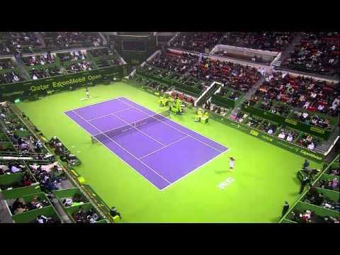 Final - Jo-Wilfried Tsonga vs. Gael Monfils - 2012 ATP Qatar Open