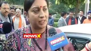 NewsX Exclusive: I&B Minister Smriti Irani speaks over Gujarat and Himachal Pradesh elections - NEWSXLIVE