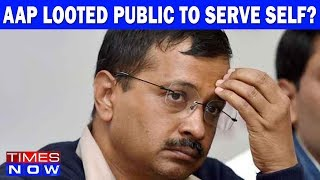 AAP Looted Public To Serve Self?   India Upfront With Rahul Shivshankar - TIMESNOWONLINE