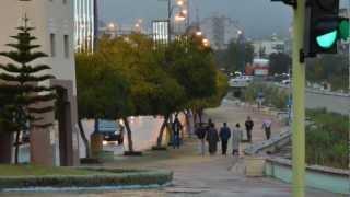 اجواء و امطار ابها السبت 1434/3/21هـ تصوير سعيد جهاش HD