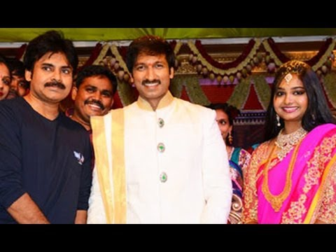 Pawan Kalyan at Gopichand Reshma Marriage