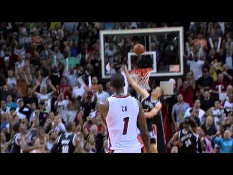 Mason Plumlee game-saving block on LeBron James: Nets at Heat